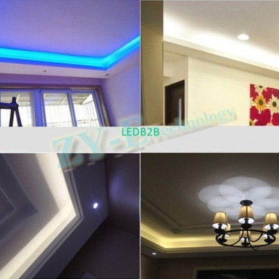 SMD 5050 LED lamp AC to DC Connec