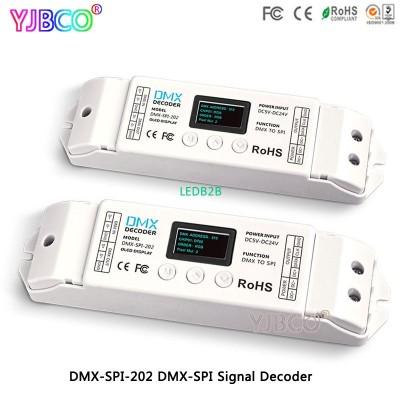 DMX-SPI-202 DMX TO SPI Decoder WS