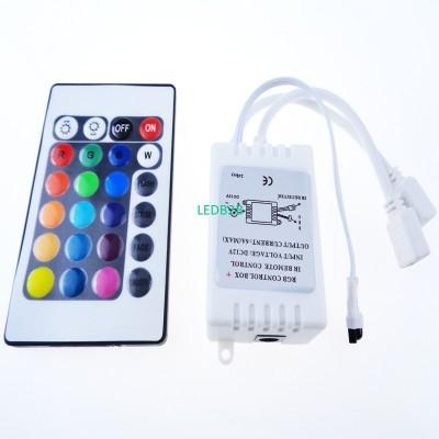 24 Keys IR Remote Controller RGB