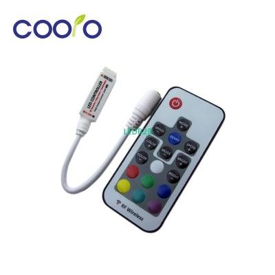 mini RF wireless led RGB remote C