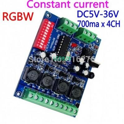 Constant current 4CH RGBW DMX Dec