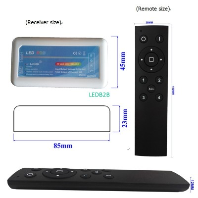 2.4G Group Remote RGB/RGBW/Dimmer