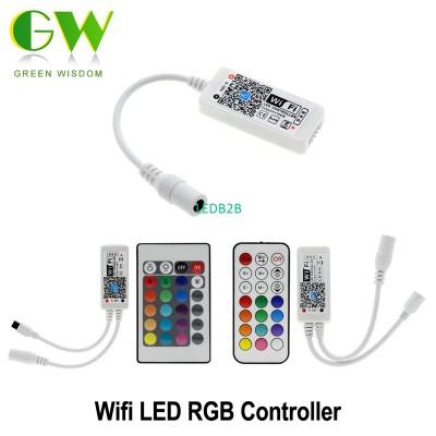 WiFi RGB Led Controller DC12-24V