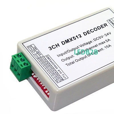 3CH Easy dmx512 Controller with c