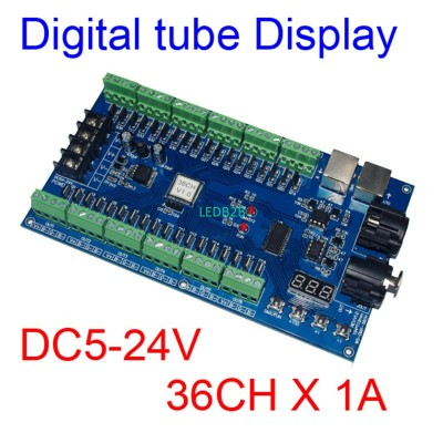 Easy 36 channel 12groups 36CH RGB