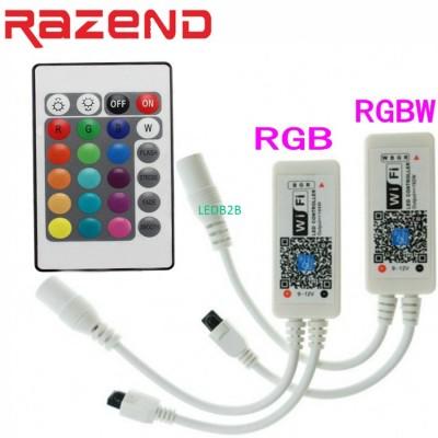 Wifi RGB RGBW LED Controller Mini