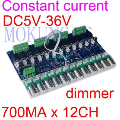 Constant current 350/700ma 12 cha