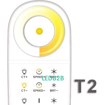 T2 2.4G LED touch controller;sync