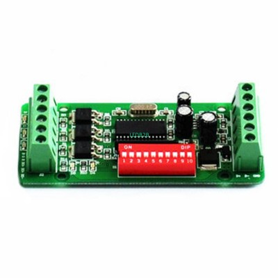 3 Channels DMX 512 LED Decoder Co