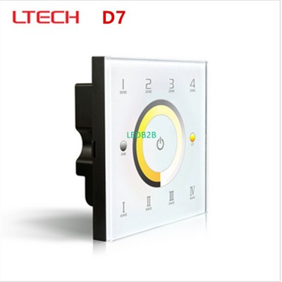 LTECH D7 DC12-24V Touch Panel Wal