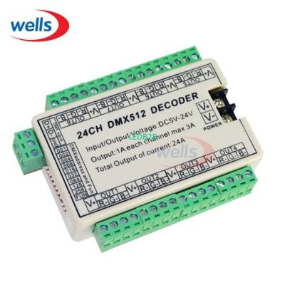 24CH Easy DMX Dmx512 Decoder,Cont