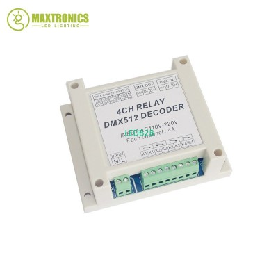 New best price 1pcs 4CH*4A relay