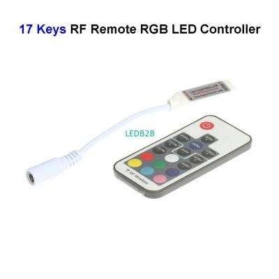 300pcs DC12V 17 Keys Wireless RGB