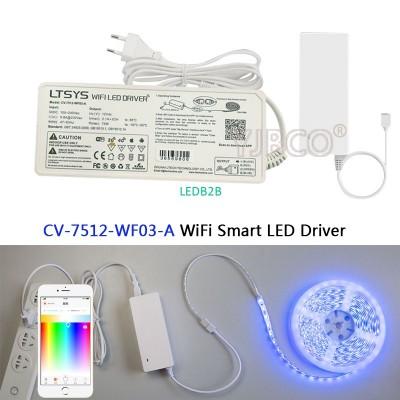 LTECH Smart RGB WiFi LED Driver;C