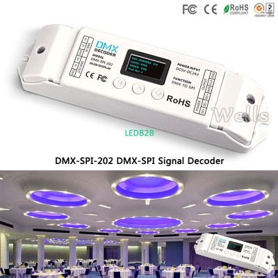 DMX-SPI-202 led controller WS2811