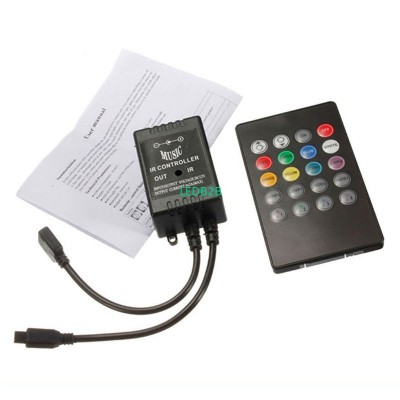 LED Music IR Controller DC 12V-24