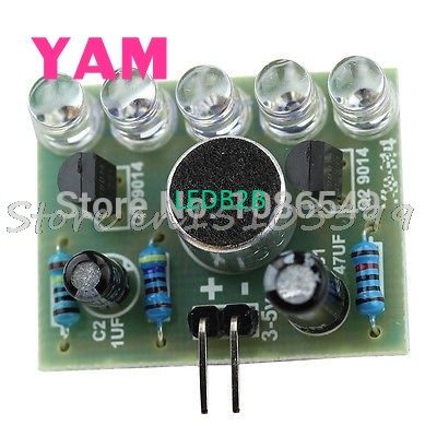 LED 1Pc Sound Control Melody Lamp