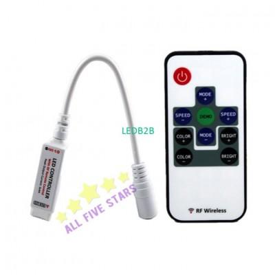 9 Keys Mini RF Wireless RGB Remot