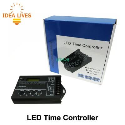 LED Time Controller DC12-24V 20A