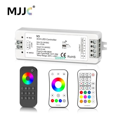 MJJC RGB RGBW LED Strip Controlle