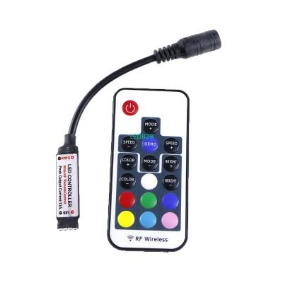 DC5-24V Mini Led RGB Remote Contr