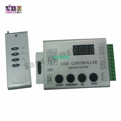 DC12V 4Keys RF Remote RGB LED Con