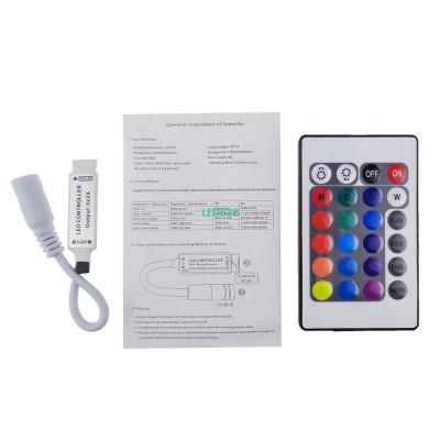 12V 24Key LED Controller RGB IR R