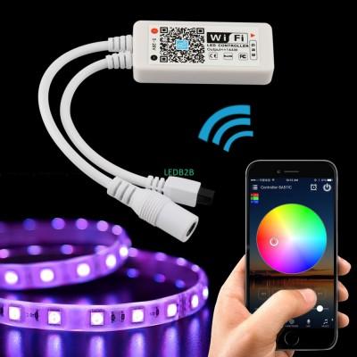 5050 2835 LED Strip Wifi RGR Cont