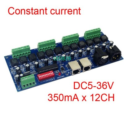 350ma constant current 12 channel