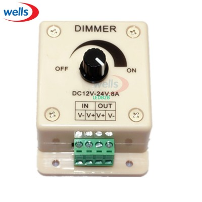 led Dimmer controller,8A 96W led
