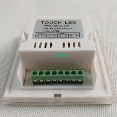 86 Wall Mounted LED RGBW Touch Pa