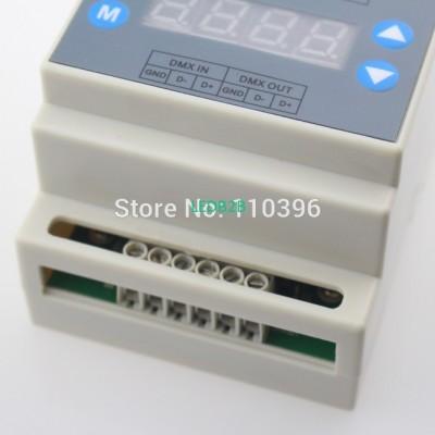 4 key Ac110-220v dmx dimmer,outpu