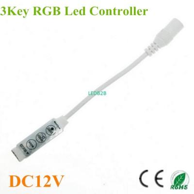 50pcs/lot Mini RGB led controller