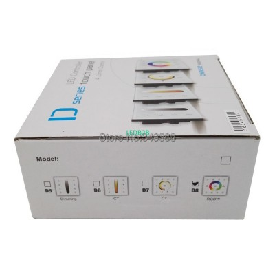 DC12-24V D8 Touch LED RGBW Contro