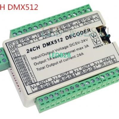 24CH 24 channel Easy DMX Dmx512 D