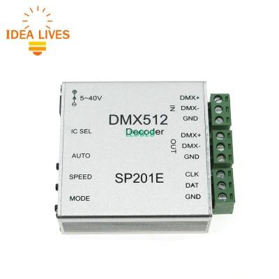 SP201E DMX512 Decoder Operation I
