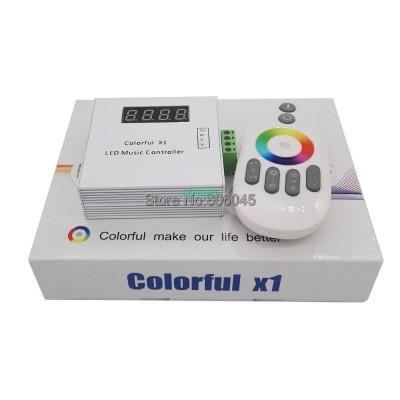 DC5-24V Colorful X1 LED Music Rem