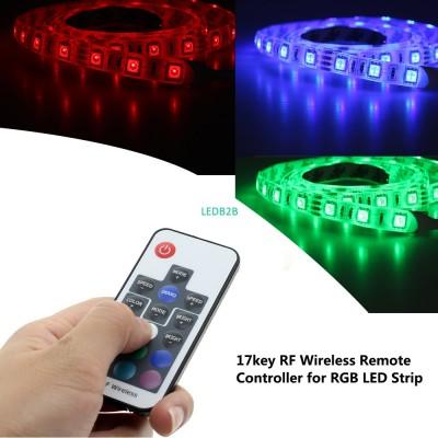 5V USB LED RGB RF Remote Controle