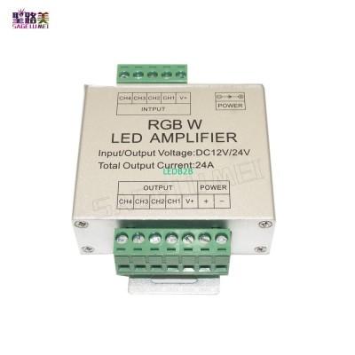 LED RGBW Amplifier DC12V-24V 24A