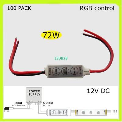 Manufacturer 100 PACK 72W 12V led