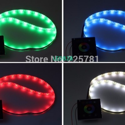 Knob panel RGB rotate controller