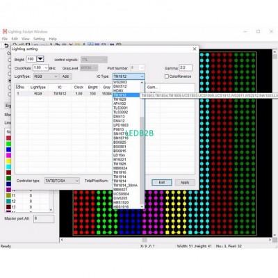 led controller,full color program