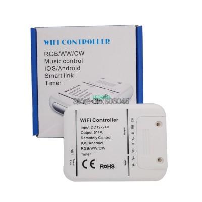 DC12V 24V 4A*5CH Wifi LED Control