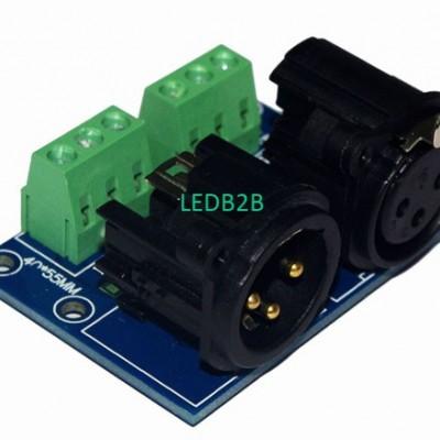 best price 2 pcs XLR3-3P connect