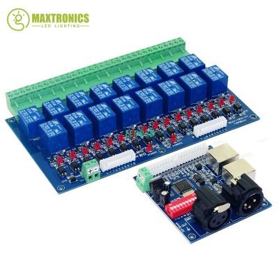 16CH Relay switch dmx512 Controll
