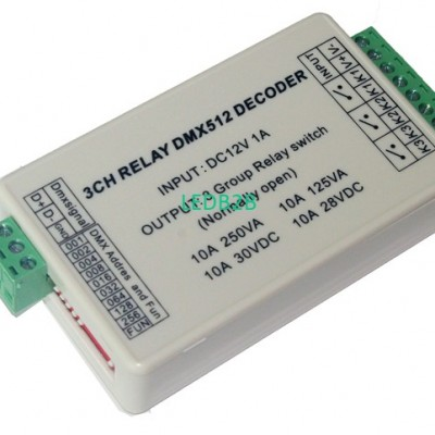 wholesale 1pcs DC12V 3CH Relays D