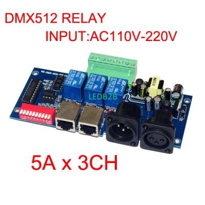 wholesale 1pcs DMX512 3P RJ45 rel