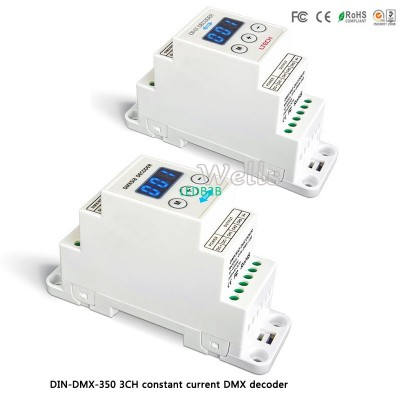 LTECH led  DMX controller DIN-DMX