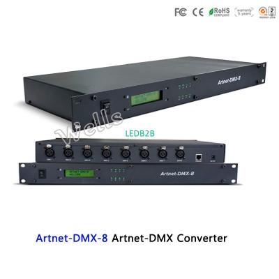 Artnet-DMX-8;convert the Artnet n