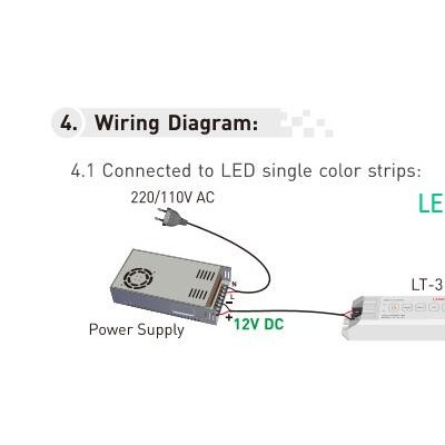 LT-311RF LED Dimming Controller,D